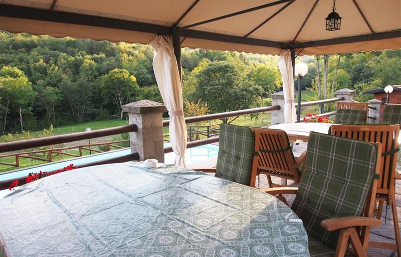 Casa vacanze borgo isora stile rustico toscano for Case stile antico